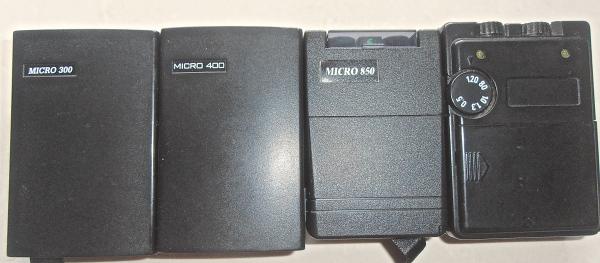 different microcurrent units